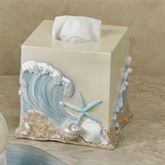 Rising Tides Tissue Cover Blue