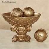 Corinthia Orbs Only Aged Gold Set of Three
