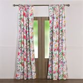 Blossom Garden Curtain Pair Multi Bright 84 x 84