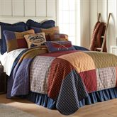 Lakehouse Patchwork Quilt Multi Warm
