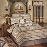 Maverick Comforter Set Multi Warm