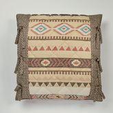 Maverick European Pillow with Sham Multi Warm