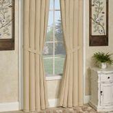 Durham Tailored Curtain Pair Honey
