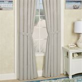 Hatteras Patch Tailored Curtain Pair Light Almond
