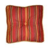Kalinjar Tufted Pillow Dark Red 15 Square