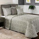 Marsala Bedspread Dark Gray