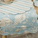 Natural Shells Scallop Table Runner  14 x 70