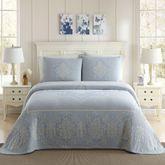 Jules Bedspread Cerulean Blue