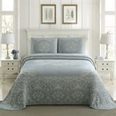 Opulence Bedspread Blue Shadow