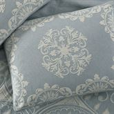 Opulence Tailored Sham Blue Shadow Standard