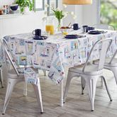 Set Sail Oblong Tablecloth Multi Cool