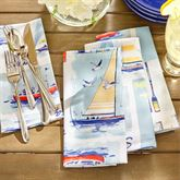 Set Sail Napkins Multi Cool Set of Eight