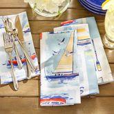 Set Sail Napkins Multi Cool Set of Eight