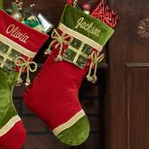 Red Christmas Present Stocking
