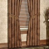 Serengeti Tailored Curtain Pair Multi Warm 84 x 84