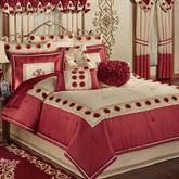 Prestige Comforter Set Dark Red