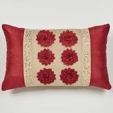 Prestige Tailored Pillow Dark Red Rectangle