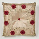 Prestige Tufted Pillow Gold 20 Square