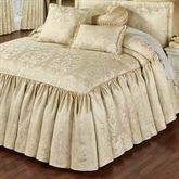 Francesca Grande Bedspread Light Gold