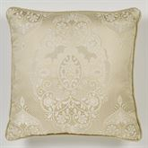 Francesca Piped Pillow Light Gold 20 Square