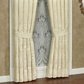 Francesca Tailored Curtain Pair Light Gold