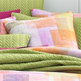 Block Party Piped Pillow Multi Bright 20 Square