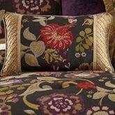 Escapade Corded Pillow Black 14 x 23