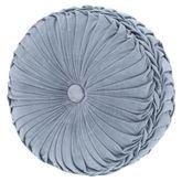 Jordyn Olivia Tufted Pillow Cerulean Blue Round