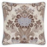Jordyn Olivia Piped Pillow Light Almond 18 Square