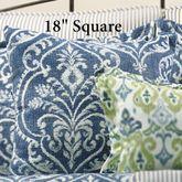 Allegra Tailored Pillow Midnight 18 Square