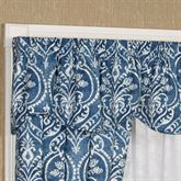 Allegra Shaped Valance Midnight 50 x 17