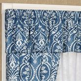Allegra Tailored Valance Midnight 52 x 17