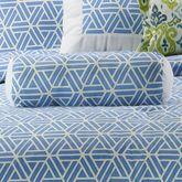 Aurora Tailored Pillow Medium Blue Neckroll