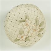 Southern Belle Gusseted Quilted Pillow Butter Round