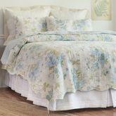 Jesamine Floral Quilt Ivory