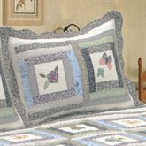 Mayfield Quilted Sham Eggshell Standard