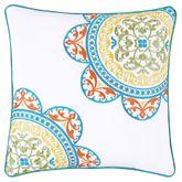 Farah Embroidered Pillow Multi Bright 16 Square