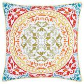 Farah Piped Pillow Multi Bright 20 Square
