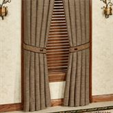 Highland Lodge Tailored Curtain Panel Sage 48 x 84