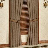 Highland Lodge Tailored Curtain Panel Sage 48 x 84