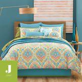Jakarta Comforter Set Multi Jewel