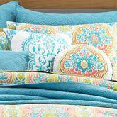 Jakarta Embroidered Pillow Multi Jewel 18 Square