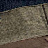 Vincent Kick Pleat Bedskirt Multi Warm