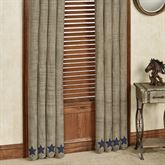 Vincent Tailored Curtain Pair Multi Warm 80 x 84