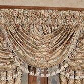 Serenity Waterfall Valance Light Gold 49 x 33