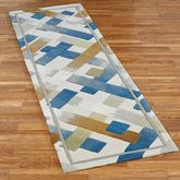 Urban Intersection Rug Runner Light Cream 23 x 76