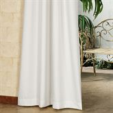 Gazebo Solid Color Long Grommet Curtain Panel 50 x 108