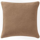 Windham Knitted Tailored Pillow Tawny 18 Square