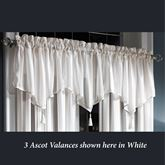 Bainbridge Sheer Ascot Valance 40 x 21