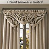Brookston Waterfall Valance 42 x 40